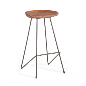 Wire Frame Tractor Stool
