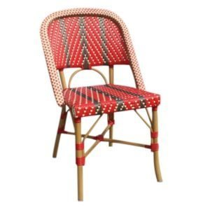 Lily Outdoor Aluminium Bistro Chair