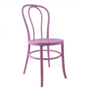 Plastic Stackable Bentwood Chair