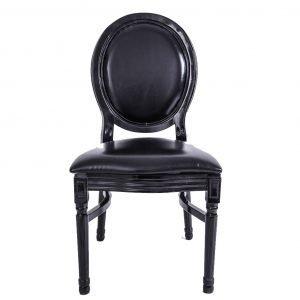 Black Bella Wood chair