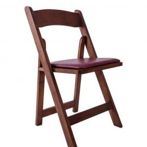 Folding Chair with Seat Pad
