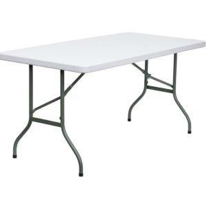 Plastic Folding Trestle Table