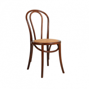 Bentwood Chair with Rattan Seat