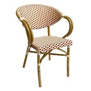 Josette Outdoor Aluminium Bistro Chair