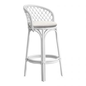 Real Rattan Bar Stool