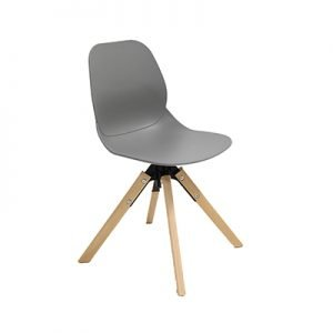 Egg Shell Chair With Timber Legs