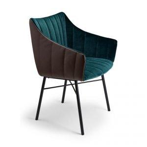 Velvet Ripple Chair
