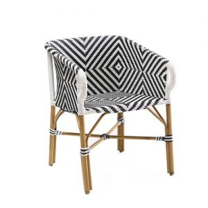 Delano Outdoor Aluminium Parisian chair