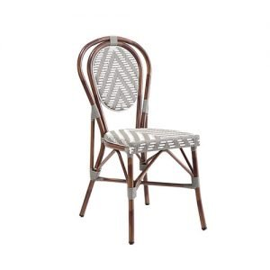 Montrell Outdoor Aluminium Bistro Chair