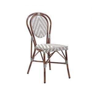 Montrell Outdoor Aluminium Bistro Chair