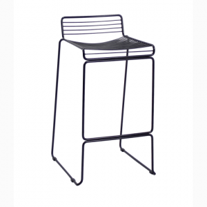 Modern Stainless Steel Bar Chair