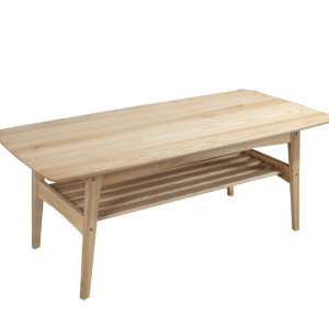 Under Shelf Timber Table