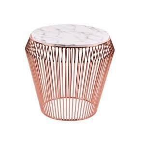 Rose Gold Marble Top Table