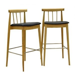 Stilted Bar Stool