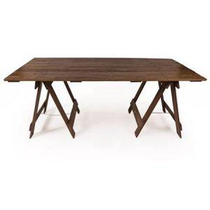 Wooden Trestle Table
