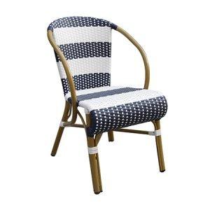 Landry Outdoor Aluminium Bistro Chair