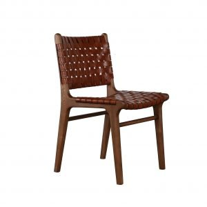 Devonport Woven leather Chair